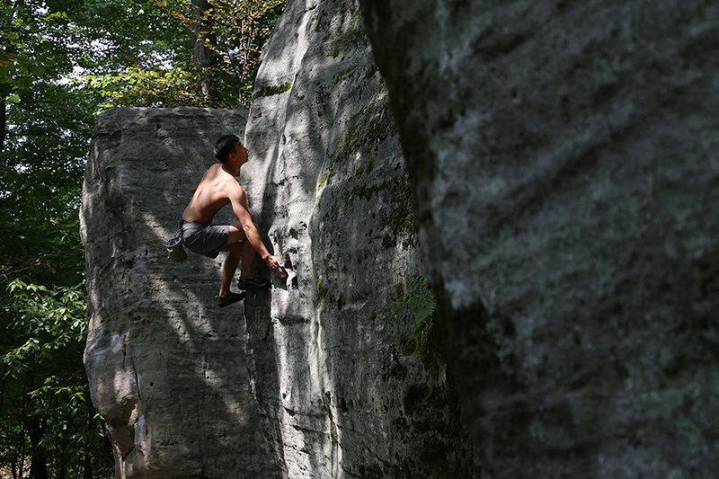 Rock Climbing Photo: Tainiko - Visitation - 2015
