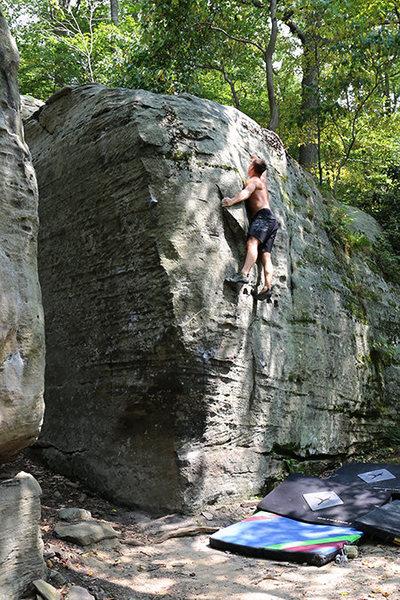 Rock Climbing Photo: Visitation - 2015
