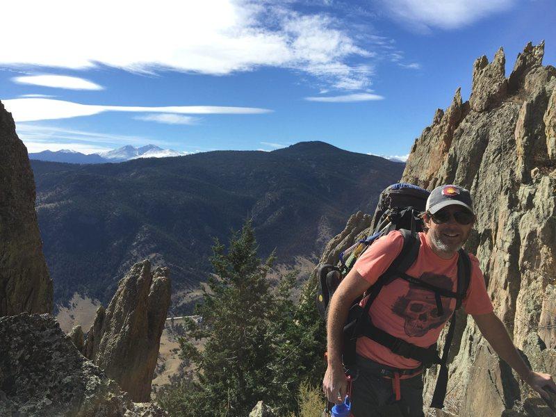 Rock Climbing Photo: profile pic, Lion's Den, Monastery