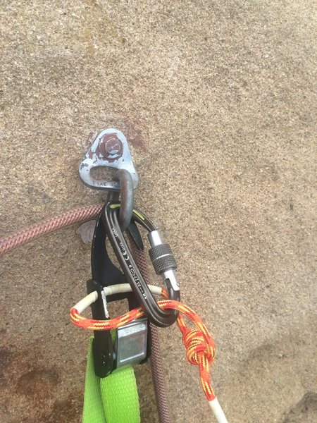 Rock Climbing Photo: Allfrifi Hook