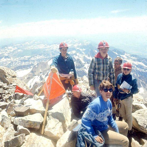 Rock Climbing Photo: Perry-Mansfield climbers left to right - John Garo...