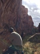 Rock Climbing Photo: Enjoying the day