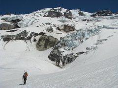 Rock Climbing Photo: Approach below Nisqually