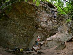 Rock Climbing Photo: Mercy the Huff.