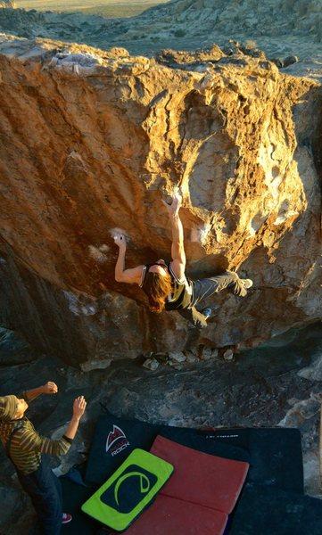 Rock Climbing Photo: Zach Alexander sending Baby Face.