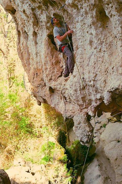 Rock Climbing Photo: Graham Landry on Lipo.