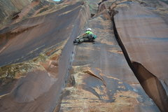 Rock Climbing Photo: you may find yourself liebacking