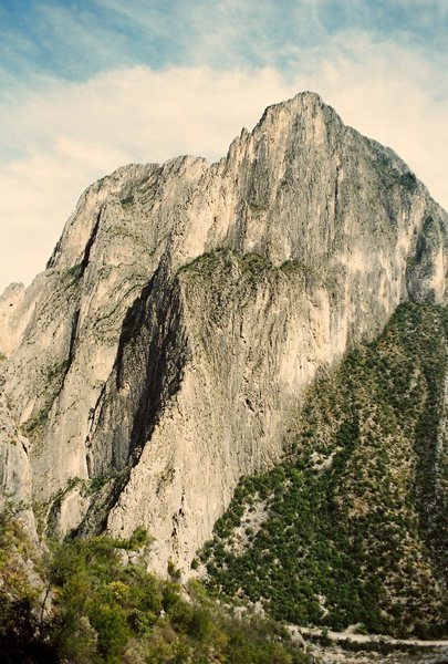 Rock Climbing Photo: El Potrero Chico.