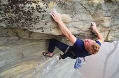 Rock Climbing Photo: Joe Virtanen on Ride the Lightning  Photo credit: ...