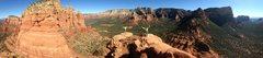 Rock Climbing Photo: Streaker Spire summit panorama