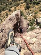 Rock Climbing Photo: Shark Fin
