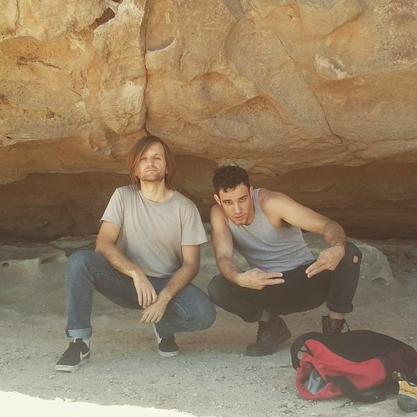 Rock Climbing Photo: mike n me about 2 rip