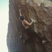 Rock Climbing Photo: just dusting off those babyface holds