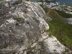 Rock Climbing Photo: This part may scary?