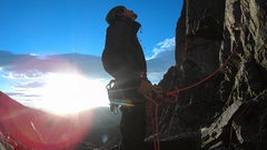 Rock Climbing Photo: Culp Bossier, Hallet's Peak RMNP, CO
