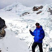 Rock Climbing Photo: Advanced base camp for Tocllaraju (19,970')