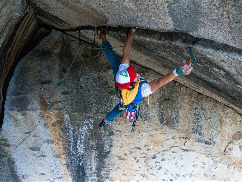 Rock Climbing Photo: In the spirit of Halloween... Gotta climb 'em all.