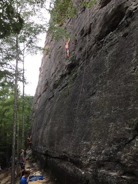 My brother Dan on Trouble Clef, 5.9