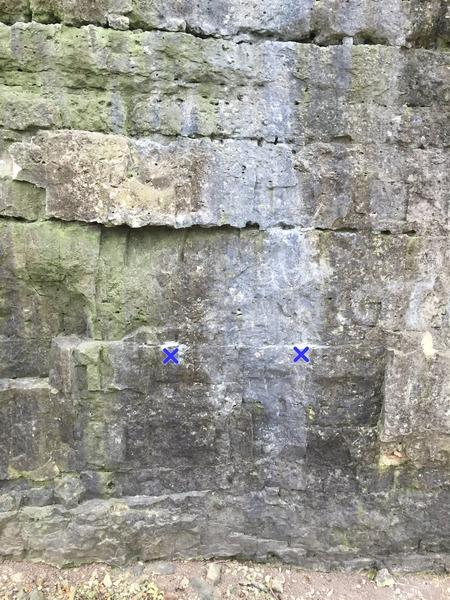 Rock Climbing Photo: The streak.