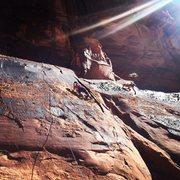 Rock Climbing Photo: Icecream Parlor