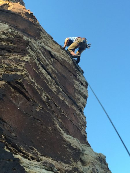 Rock Climbing Photo: Old Side