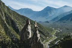 Rock Climbing Photo: The Spires. Andrew Adkins Photo.