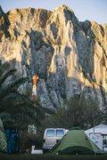 Rock Climbing Photo: La Posada. Andrew Adkins Photo.