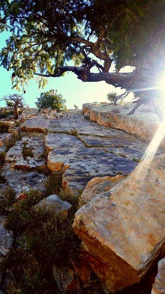 Rock Climbing Photo: Last stretch