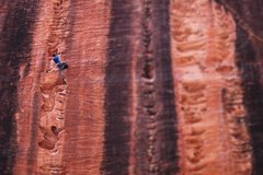 Rock Climbing Photo: On the route Dost Mitra at Namaste Wall.