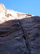 Rock Climbing Photo: The beautiful Demonstrator
