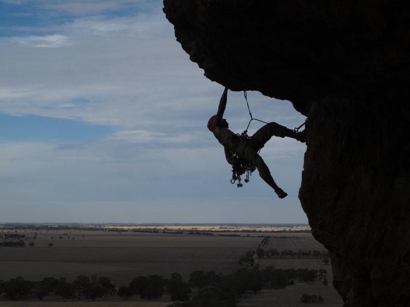 Rock Climbing Photo: Roof Trading Arapiles, AU