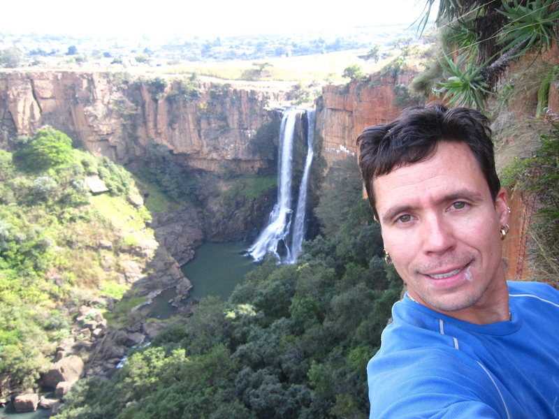 At the water of Waterval Boven, South Africa