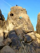 Rock Climbing Photo: Dave and his son Nolan make history with the first...