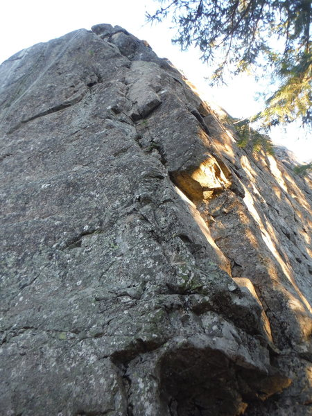 Rock Climbing Photo: The Kreutzer, climb the arete