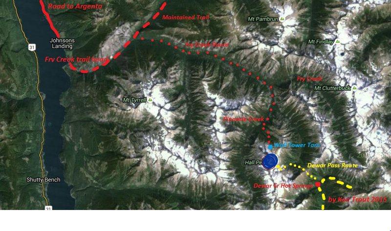 Rock Climbing Photo: Fry Creek Route