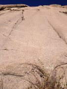 Rock Climbing Photo: Two Atlantis Slab climbs.