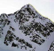 Rock Climbing Photo: North Ridge of Little Matterhorn