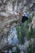 Rock Climbing Photo: Jimmie Redo on HLAH.  © 2008 Ken Cangi, All Right...
