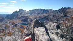 Rock Climbing Photo: Summit view in the fall!