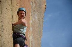 Rock Climbing Photo: Alissa on 9 Gallon Buckets