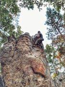 Rock Climbing Photo: Check My Footwork