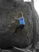 Rock Climbing Photo: North marsh boulder, Pawtuckaway State Park