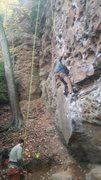 Rock Climbing Photo: Brian on Moonbeam