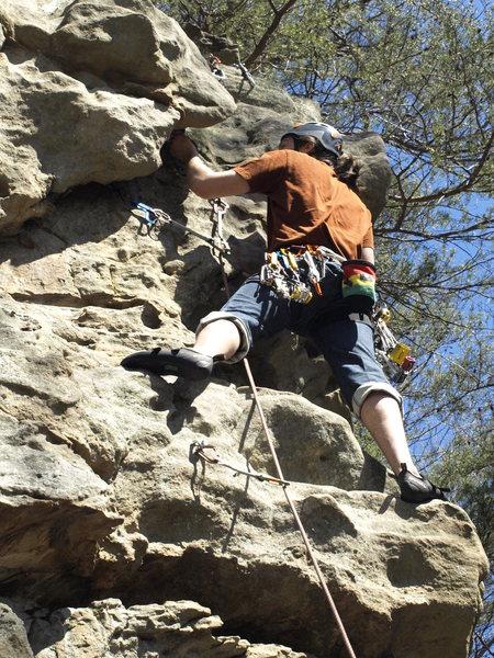 Rock Climbing Photo: Chris Sisneros