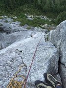 Rock Climbing Photo: 5th pitch