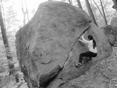 Rock Climbing Photo: Another amazing fall day at Pawtuckaway!