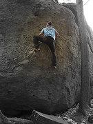 Rock Climbing Photo: Unknown line, very fun though!