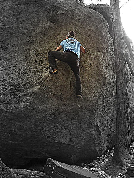 Rock Climbing Photo: Casual State of Mind V3
