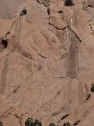 Rock Climbing Photo: close up photo
