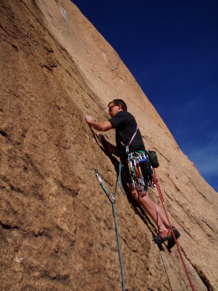 Rock Climbing Photo: ladies man 2002 BBN, EBN, SM, PN 1st P .10- bolts,...